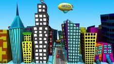 cartoon city - Google Search