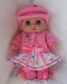 "Handmade Baby Dolls Clothes for 8.5"" Lil' Cutesie BERENGUER doll"