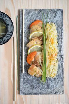 Paella d'inspiration Japonaise - Safran Gourmand