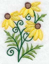 Machine Embroidery Designs at Embroidery Library! - Wildflowers