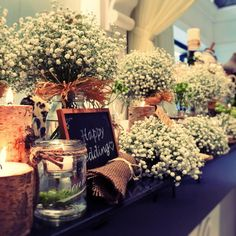 最近人気の会場コーディネート♡ かすみ草の花言葉は『清い心・無邪気・感謝』 #アルカンシエル横浜 #アルカンシエル #結婚式 #プレ花嫁 #かすみ草 #love #natural #wedding #yokohama