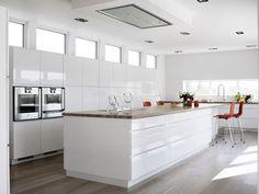 lang kjøkkenøy - Google-søk Kitchen 2016, Kitchen Island, Oak Flooring, Interior, Kitchens, Home Decor, Decoration, Google, Projects