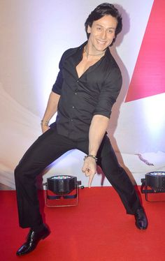 Tiger Shroff at a screening of 'Bang Bang'.
