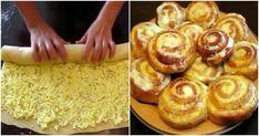 Recept na klasické skořicové šneky je známý, ale co zkusit trošku něco jiného? S tvarohem a zakysanou smetanou se sladcí šneci budou vyjímat chutí, protože krém je krásně krémový a těsto nádherně nadýchané. Pro servírování návštěvě je tento dezert jako dělaný. Baking Recipes, Cake Recipes, Farmers Cheese, Savory Tart, How To Make Bread, Soul Food, Food Photo, Baked Goods, Bakery