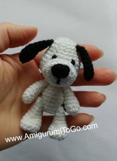 This is the assembly page for the miniature puppy. The written pattern for this puppy is here . ASSEMBLY: Sew the legs, arms and tail to...