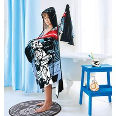 Star Wars™ Darth Vader™ Hooded Towel - May the force be with you! A hooded towel perfect for after baths or at the beach/pool, buy Avon Living products online at barbieb.avonrepresentative.com.