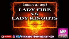Lady Fire vs Lady Knights 1 27 18
