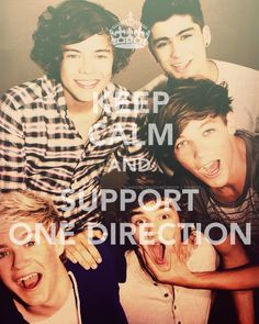 I will always support them<3