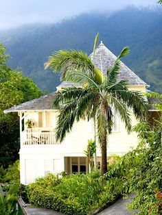 Strawberry Hill Hotel & Spa, Jamaica French Colonial, British Colonial, Dream Vacations, Vacation Spots, Beautiful Islands, Beautiful Places, Places To Travel, Places To Go, Tropical Houses