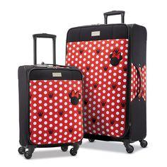 American Tourister - American Tourister Disney 2 Piece Softside Spinner Luggage Set - Walmart.com - Walmart.com