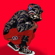 """Stream Future x Quavo type beat """"BAPE"""" flute trap beat by Young Grape Beats from desktop or your mobile device Bape Wallpapers, Animes Wallpapers, Bape Art, Arte Cholo, Dope Kunst, Arte Dope, Trill Art, Dope Cartoons, Supreme Wallpaper"""