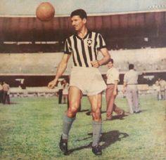 Nilson Santos of Botafogo & Brazil in 1963.