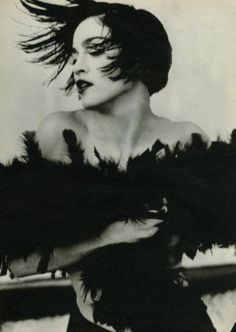 Madonna, 1990 by Herb Ritts. Owns her own destiny and does whatever she wants.