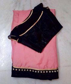The jacket ♥ Saree Blouse Neck Designs, Fancy Blouse Designs, Saree Models, Blouse Models, Trendy Sarees, Fancy Sarees, Modern Saree, Stylish Blouse Design, Designer Blouse Patterns