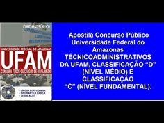 Apostila Concurso Público Universidade Federal do Amazonas | 2016
