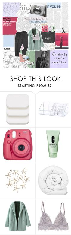 """i'm sick of sugarcoatin'"" by jewell-e ❤ liked on Polyvore featuring COVERGIRL, Chanel, Clinique and Brinkhaus"