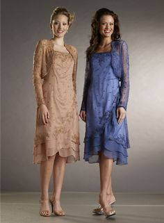 Country Mother of the Bride Dresses