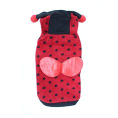 cat Polka Dotted Cute Animal Design Lady Bug Dog Clothes Dog Costumes for Cats Small Dogs >> Can't believe it's available, see it now : Cat sweater