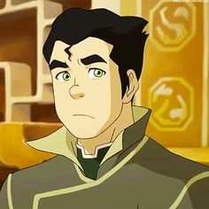I just died a little, I love Bolin more than anything! Especially when hes making fun of Mako! :)