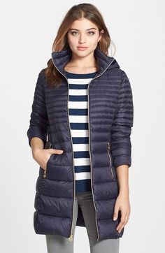 8138fc6fa7cb MICHAEL Michael Kors Packable Hooded Down Coat (Online Only) available at   Nordstrom Парка