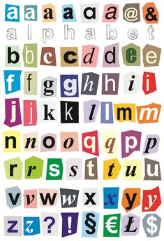 Alphabet Cut Out Letters Fresh Cut Out Letters Classroom Small Alphabet Letters, Alphabet Writing, Preschool Alphabet, Alphabet Crafts, Alphabet Stickers, Cut Out Letters, Print Letters, Printable Alphabet Letters, Typography Alphabet