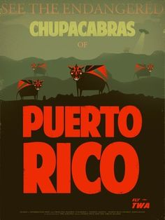 I've seen a few chupacabras who walk on two legs, and not just in Puerto Rico.