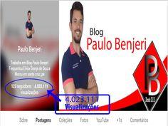 Blog Paulo Benjeri: O Blog Paulo Benjeri atingiu mais de 4 milhões de ...
