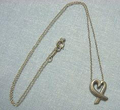PALOMA-PICASSO-TIFFANY-Sterling-Silver-Loving-Hearts-Pendant