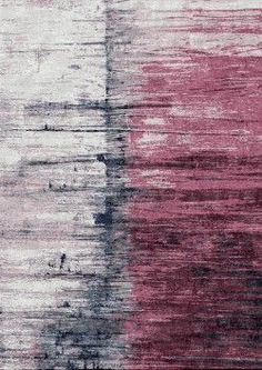 Seam Berry - Hand Knotted rug from Bazaar Velvet - a funky asymmetrical abstract design in a yummy raspberry pink Luxury modern rugs London Diy Carpet, Wall Carpet, Modern Carpet, Rugs On Carpet, Stair Carpet, Cheap Carpet, Contemporary Rugs, Modern Rugs, Art Grunge