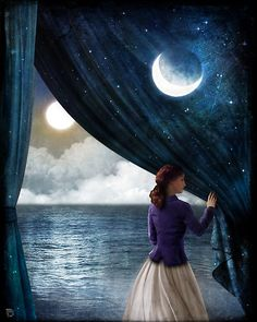 Night with a view by ChristianSchloe. There's something about the night that I find so much more.... idk I am so in love with it.