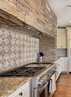The Altalena Pattern by StoneImpressions is available in a variety of colors both neutral and bright! With a choice of 9 different stone types, this pattern can be completely customized to suit any home.