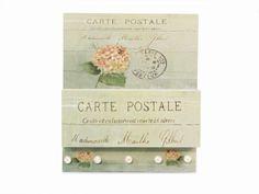 Porta Chaves e Cartas Postale, vendido em www.meumoveldemadeira.com.br.