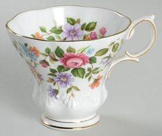 Royal Albert Random Harvest Series Footed Cup