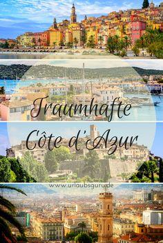 Sonne satt, traumhafte Strände und pittoreske Orte, die selbst Prominente in ihren Bann ziehen – ja, ein Urlaub an der Côte d'Azur ist schon etwas Besonderes. Begleitet mich auf meiner kleinen Rundreise entlang der Französischen Riviera und besucht Saint-Tropez, Nizza, Cannes, Monaco und Co!