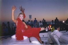 A Miss America Tradition, the Show Me Your Shoes Parade along the historic Atlantic City Boardwalk drew crowds of thousands. Miss Florida 1999 Kelli Meierhenry showing off her Disney shoes representing her state of Florida in the 2000 Miss America Boardwalk Parade Miss Florida, State Of Florida, Disney Shoes, Miss America, Atlantic City, Pageants, Beauty Queens, Your Shoes, Crowd