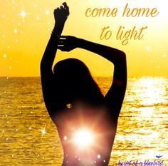 come home to light ... ✨