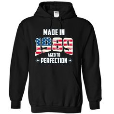 Made in 1989 USA T-Shirts, Hoodies. ADD TO CART ==► https://www.sunfrog.com/Birth-Years/Made-in-1989-[USA-1989]-2036-Black-9600261-Hoodie.html?id=41382