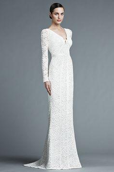 J. Mendel Spring 2015 Bridal Collection | itakeyou.co.uk #weddingdress