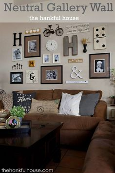 Gallery Wall living room gallery wall | gallery wall, decorating and learning