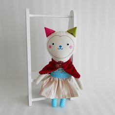 cat doll Veronika / Břichopas toys