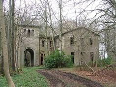 Haddo House ~ Sad old Italianate mansion abandoned in the forest near to Inverkeithny, Scotland. - I would live here