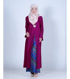 Kebaya Moden, Kebaya Muslim, Kain Batik, Baju Raya, Kebaya Brokat, Muslim Fashion, Hijab Fashion, Batik Fashion, Baju Kurung