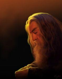 #Gandalf by Aegileif.deviantart.com on @deviantART #TheHobbit
