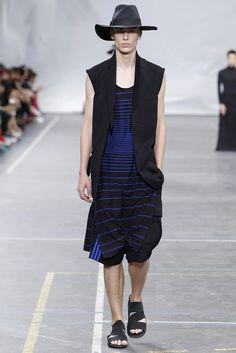 Menswear runway look