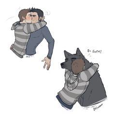 "batwynn: "" Not picky Derek appreciates all of Stiles' forms of affection. """