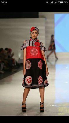 Batik Fashion, Ethnic Looks, Batik Dress, Ethnic Dress, Kitenge, Smoky Eye, Kebaya, Dress Casual, Ikat