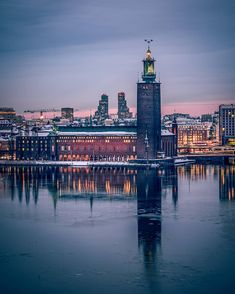 """karl on Instagram: """"Stockholms stadshus... #stockholm #stockholmstad #stockholm_insta #stockholmworld #visitstockholm #viewstockholm #sweden…"""" Visit Stockholm, Sweden, New York Skyline, World, Travel, Instagram, Pictures, Viajes, Destinations"""