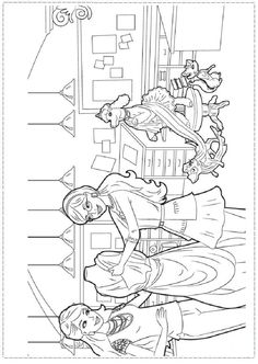 Barbie In A Mermaid Tale Coloring Page More Barbie Coloring Sheets