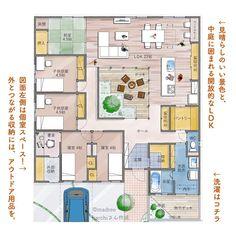 Home Building Design, Building A House, House Design, Japanese House, House Layouts, My Dream Home, Exterior Design, Home And Living, Custom Homes