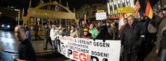 Pegida-Kundgebung in Dresden: Völlige Abwesenheit jeder christlichen Vorstellung